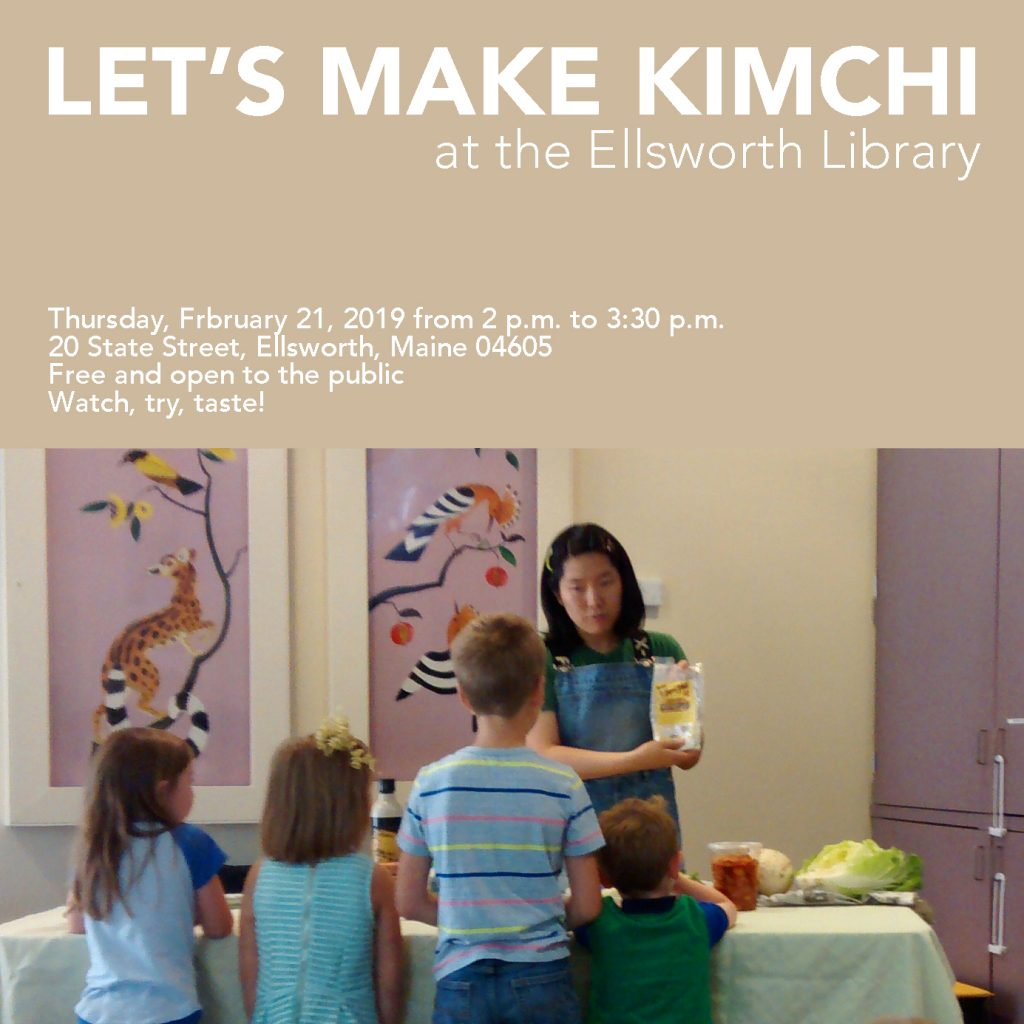 Let's Make Kimchi at the Ellsworth Library